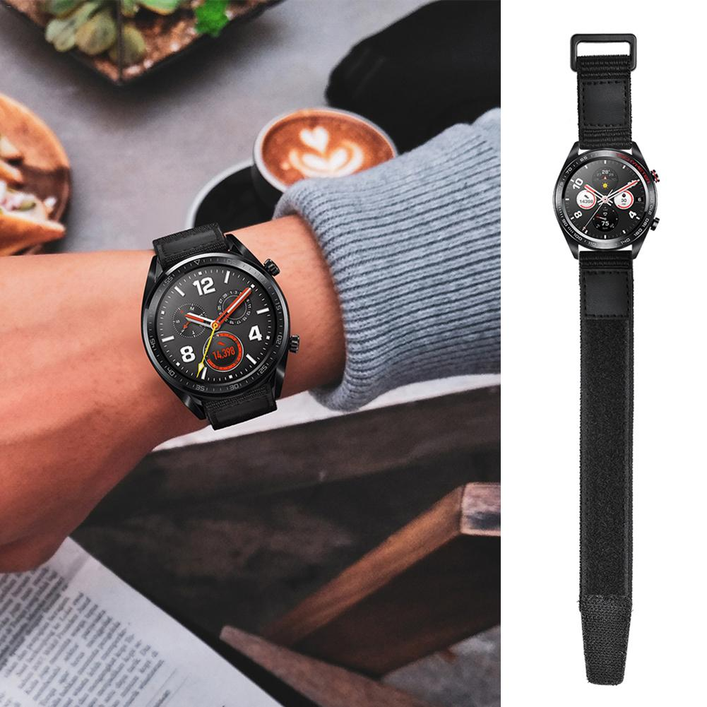 22MM Magic Loopback Nylon Watch Strap Watch Magic Nylon Strap For Huawei Watch GT Fashion Lightweight Easy To Wear New-in Smart Accessories from Consumer Electronics