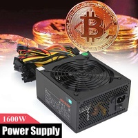 TP 1600AH3CSG SECC 1600W Power Supply For 6 GPU Eth Rig Ethereum Crypto Coin Miner Mining Antminer
