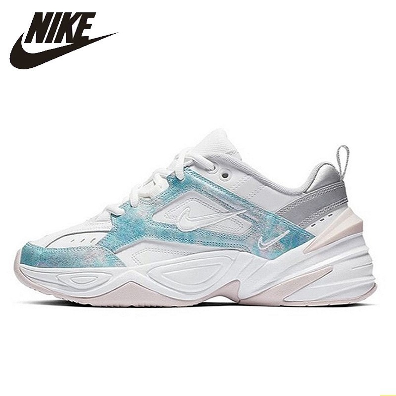 Nike M2k Tekno Womens Running Shoes New Arrival Original Air Cushion Sneakers Outdoor Casual Shoes #AO3108-103Nike M2k Tekno Womens Running Shoes New Arrival Original Air Cushion Sneakers Outdoor Casual Shoes #AO3108-103