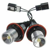 1Pair Car 3W LED Halo Angel Eyes Light Bulb Lamp For BMW E39 M5 MS E53 E59 E60 E63 E64 E65 E66 E83 E53 6312694048 63126916097