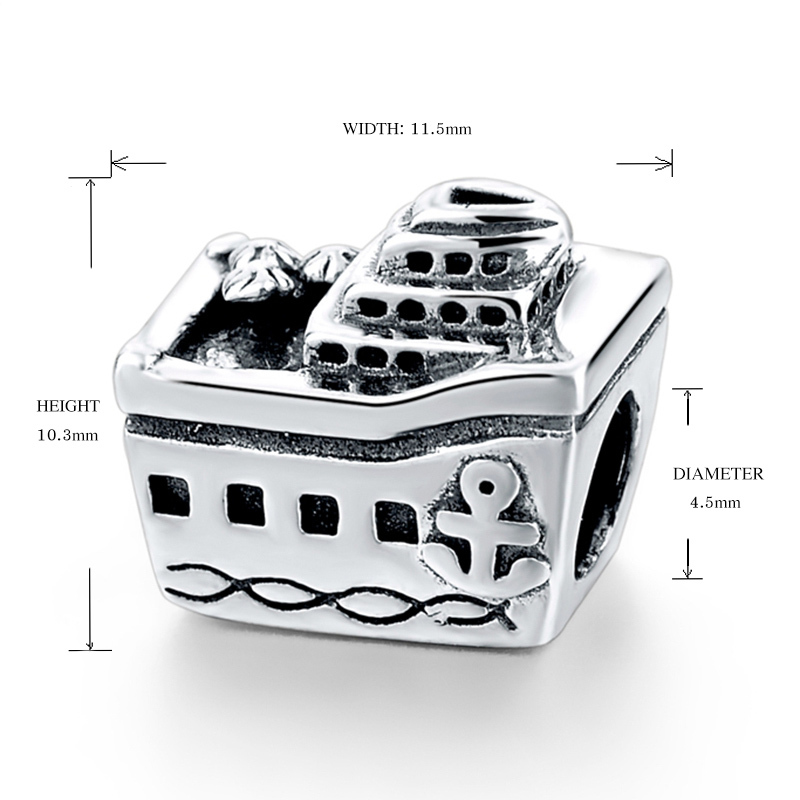 Passar till europeiska Charms Armband 925 Sterling Silver personliga - Märkessmycken - Foto 4