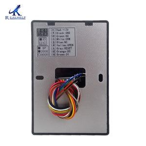 Image 4 - Lector de tarjetas RFID 125KHZ Control de acceso de una sola puerta IP65 impermeable al aire libre 2000 usuarios WG26 salida tarjeta maestra administrar fácil uso