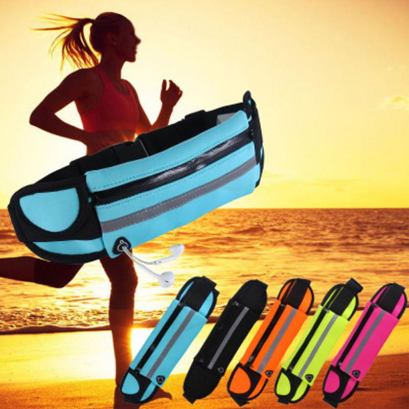Waist Bum Bag Fanny Pack Belt Money For Running Jogging Cycling Phones Sport Running Waterproof Belt Waist Bag