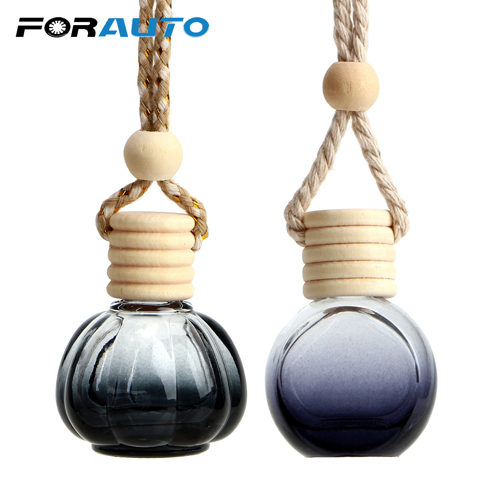 Air Freshener Interior Accessories Special Section Auto Perfume Air Freshener Bottle Smell Pendant Automobile Rearview Mirror Hang Ornament Fragrance Essential Oil Diffuser Gift