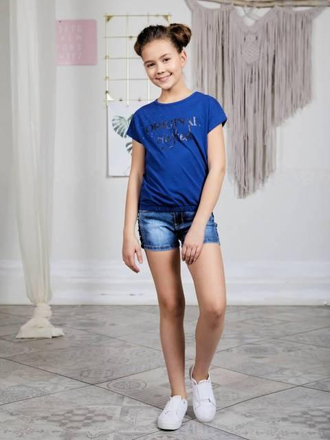 Шорты джинсовые Luminoso для девочек