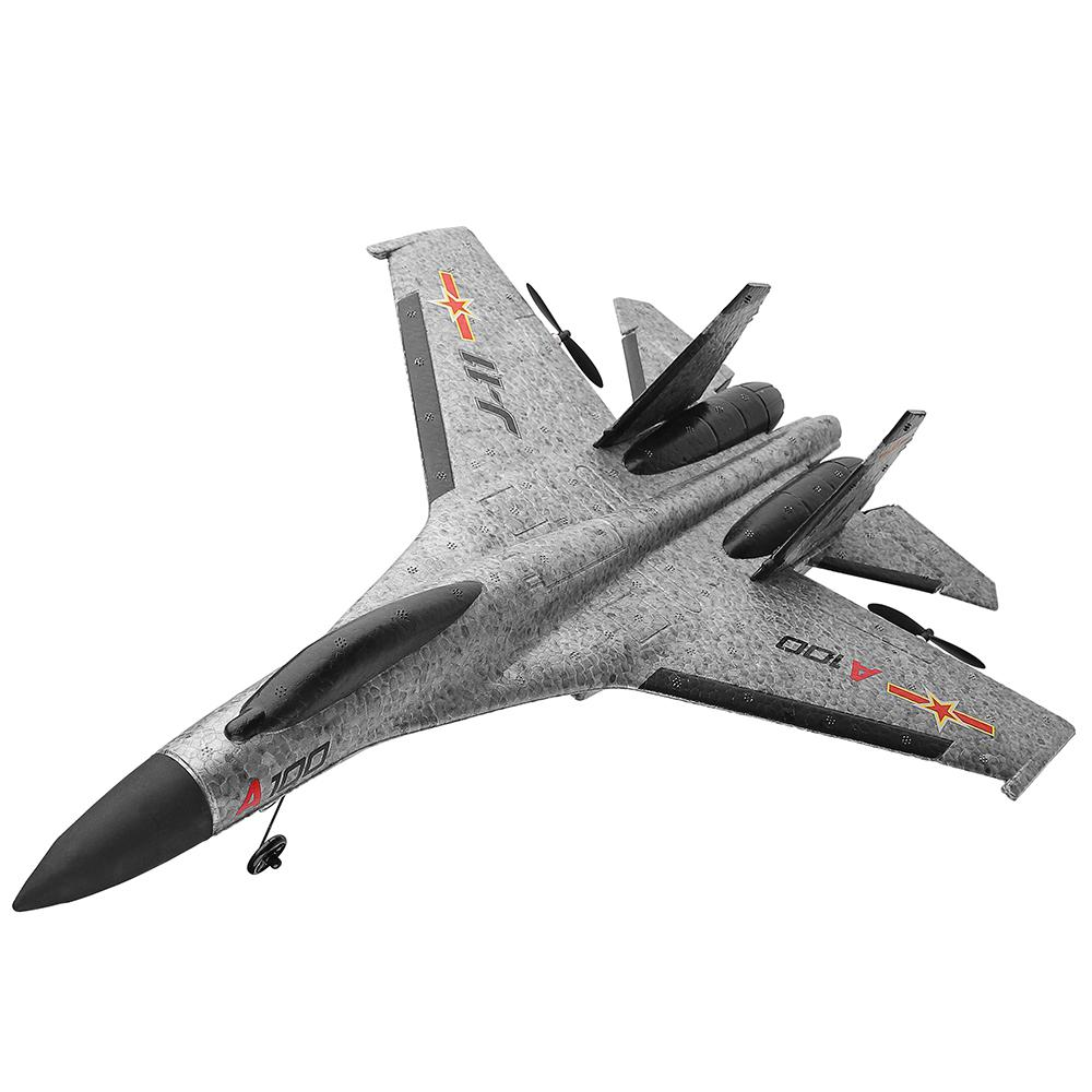 Image 3 - A100 J11 EPP 340mm Wingspan 2.4G 3CH RC Airplane Fixed Wing Aircraft Built Remove Control Plane Toys Children Birthday Gift-in RC Airplanes from Toys & Hobbies
