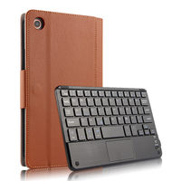 For Xiaomi Mi Pad 4 8'' Case Stand Wireless Bluetooth Keyboard Leather Flip Tablet Cover For Xiaomi MiPad4 8 Inch Case Keyboard