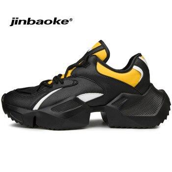 2019 neue Männer Turnschuhe Dicke Sohle Atmungsaktives Mesh Laufschuhe für Männer Plattform Chunky Schuhe Im Freien Zu Fuß Schuhe Zapatillas