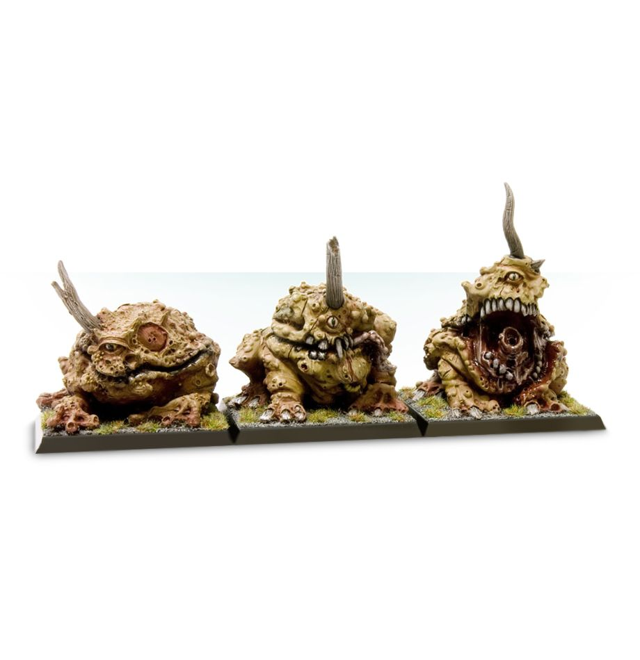 Daemon Plague Toads of Nurgle-in Model Building Kits from Toys & Hobbies