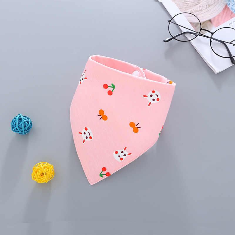 ผ้ากันเปื้อนเด็กผ้าฝ้ายเด็กผ้ากันเปื้อนสามเหลี่ยมเด็กทารกน่ารัก Bibs เด็กการ์ตูนผ้าพันคอ Bib COLLAR Burp ผ้าอุปกรณ์เสริม