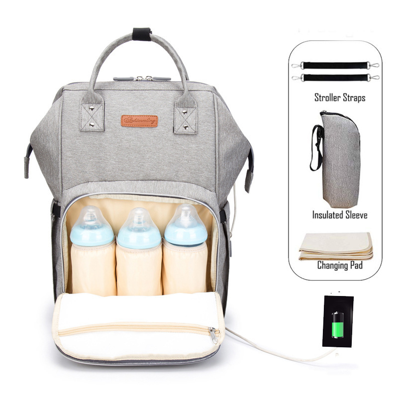 Mommy Package More Function Capacity Mommy Package Bag Both Shoulders Package Brand New Upgrade woman 2019 backpack geometric Mommy Package More Function Capacity Mommy Package Bag Both Shoulders Package Brand New Upgrade woman 2019 backpack geometric