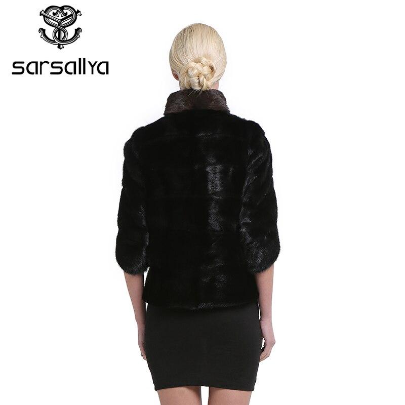Black De Sarsallya Parka Véritable Pour Vison Chaud Outwear Fille Femmes Épaisse Mode Veste Manteaux Fourrure Personnalisable Hiver Femme Réel qUzpMVSG