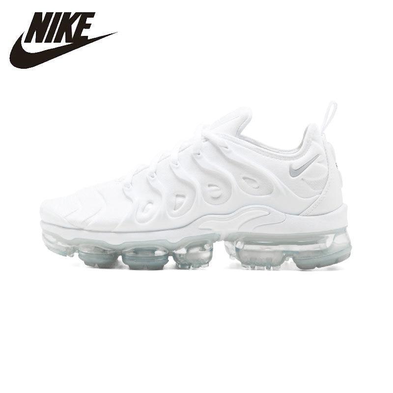 Nike Air Vapormax Original Mais Nova Chegada Branco Running Shoes Respirável Homens Esportes Tênis Esportivos #924453 100
