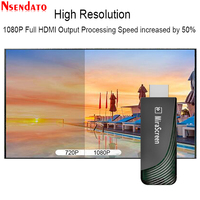 Mirascreen D7 5G Dual Band 1080P Miracast Wireless DLNA AirPlay HDMI TV Stick Wifi Display TV Dongle Receiver For YouTube