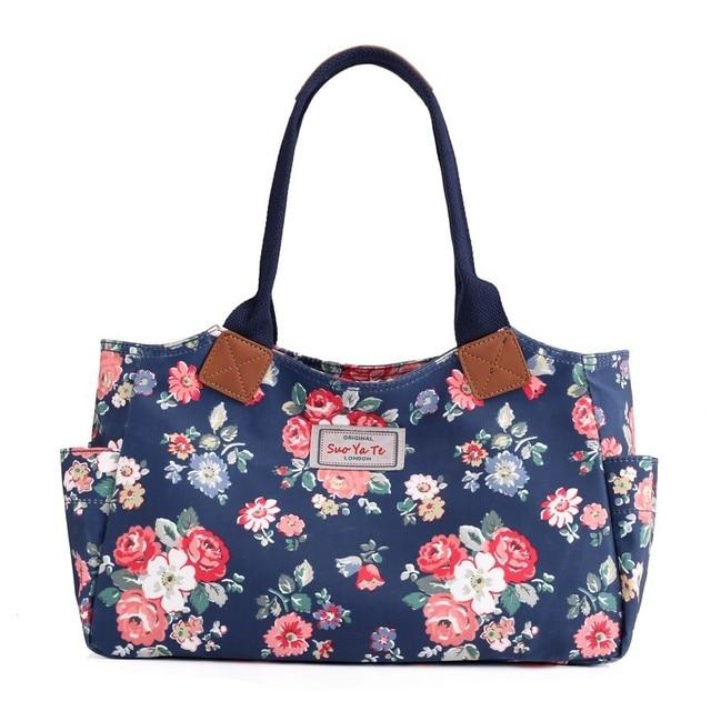 0f1a66cc683 Korean Style Handbags Torba Damska 3D Floral Print Schoudertas Sacoche  Femme Casual Borse Donna Tracolla Ladies Hand Bag Women