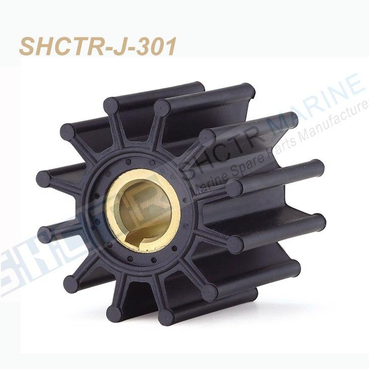 SHCTR Flexible Impeller for JABSCO 18327-0001,SHERWOOD 15000K,CEF 500167,JMP 7352,DJ Pump 08-36-1201