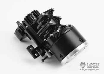 LESU 2Grade High Torque Gear Box Transmission D for 1/14 RC Tractor Truck Tmy   TH02228 - DISCOUNT ITEM  5% OFF All Category