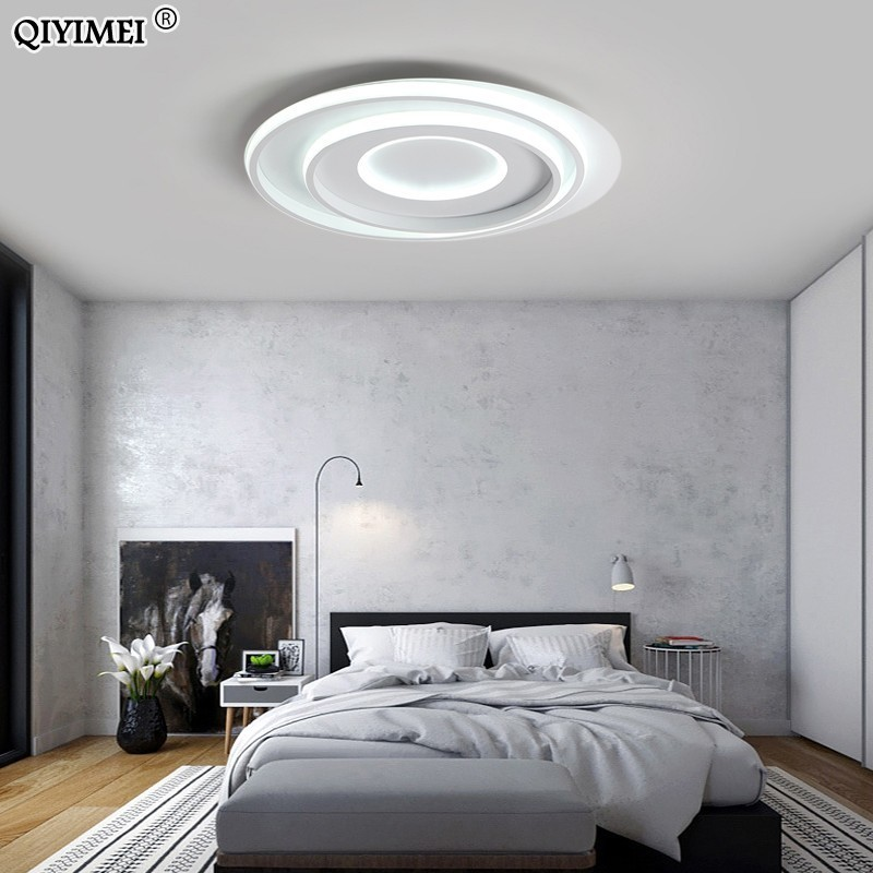 Modern round acrylic led Chandelier Living room study room Lighting surface mounted Light Lustres bed room Home Lighting FixtureModern round acrylic led Chandelier Living room study room Lighting surface mounted Light Lustres bed room Home Lighting Fixture