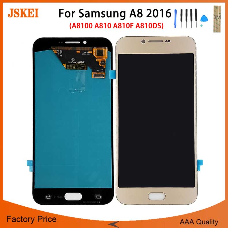 htc a810e刷机_A8 2016 A8100 A810 A810F A810DS OLED LCD For Samsung for Galaxy Change OLED Display ...