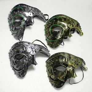 Led Steampunk Phantom Masquera