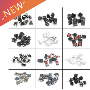 120pcs=12 Type Tactile Push Button Touch Switch Remote Keys Button Microswitch Hot Sale