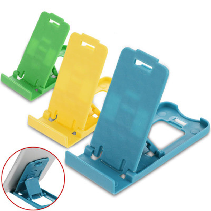 Mini Mobile Phone Holder Simple Universal Foldable Phone Stander For IPhone X For Samsung Galaxy For Xiaomi Support Stents