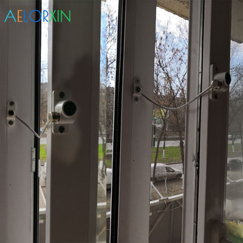 Window Stopper Child Window Restrictor Security Locks Stainless Steel Door Window Limit Lock Prevent Childern Falling Protection цена 2017
