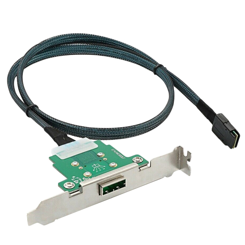 Server Transmission Cable Sff 8088 Female To Sff 8087 Computer Hard Disk Data 1M