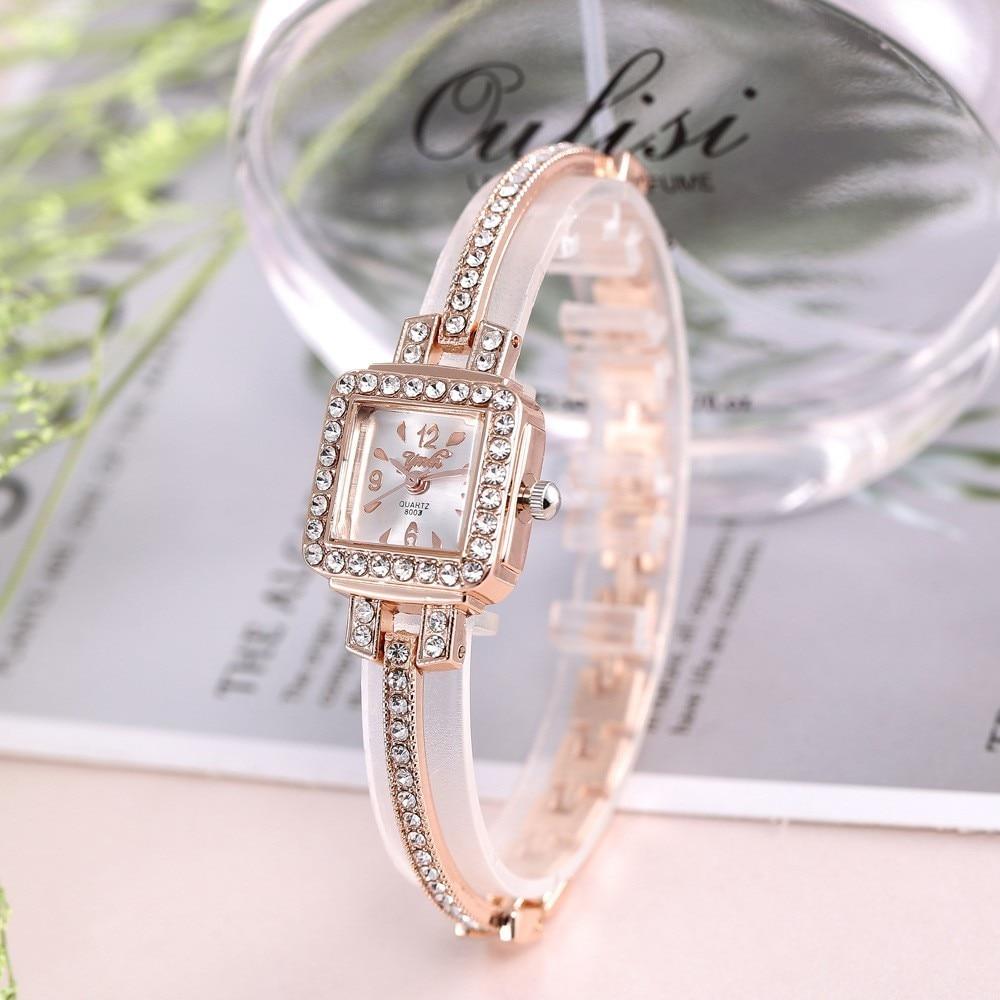 2020 TOP Brand Luxury Bracelet Watch Women Watches Rose Gold Women Watch Diamond Ladies Watch Clock Relogio Feminino Reloj Mujer