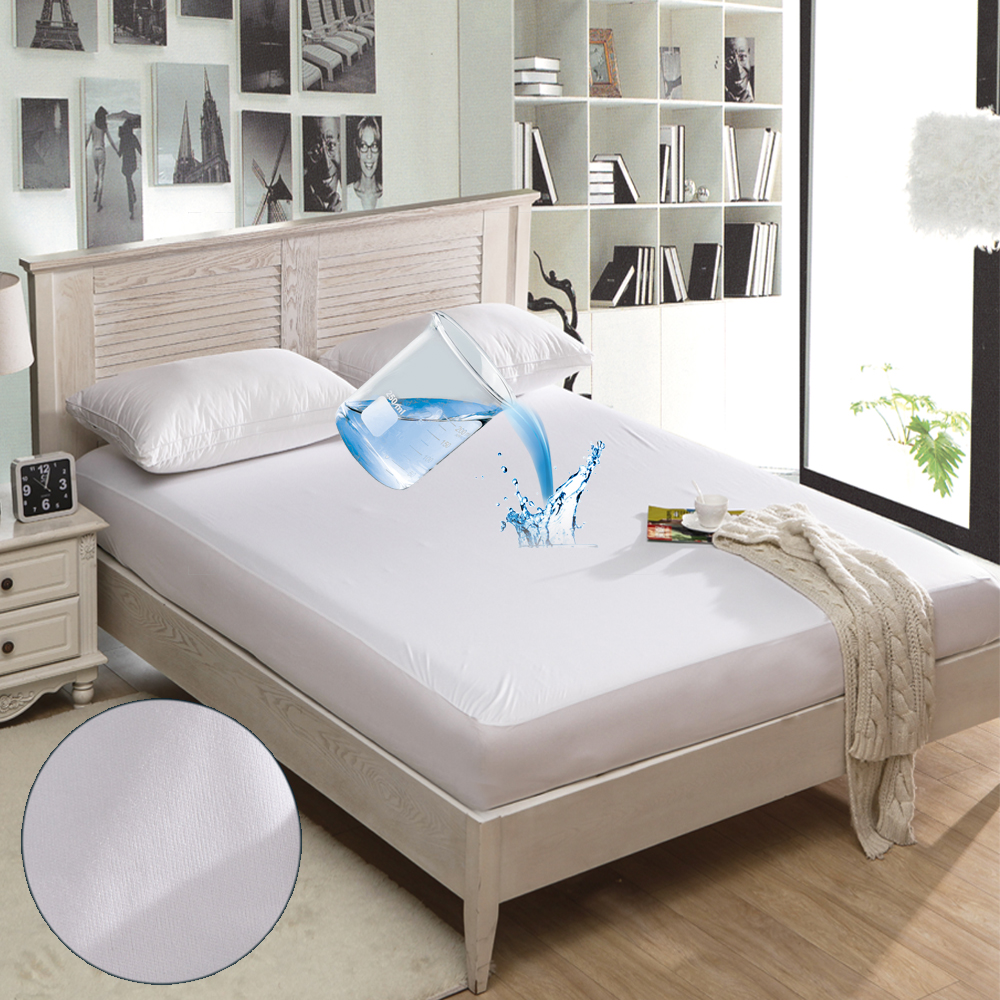 Warmtex 160x200cm Waterproof Mattress Pad Bed Mattress Protector Anti Mite Soft Mattress Cover For Hospital Hotel Bed Cover image