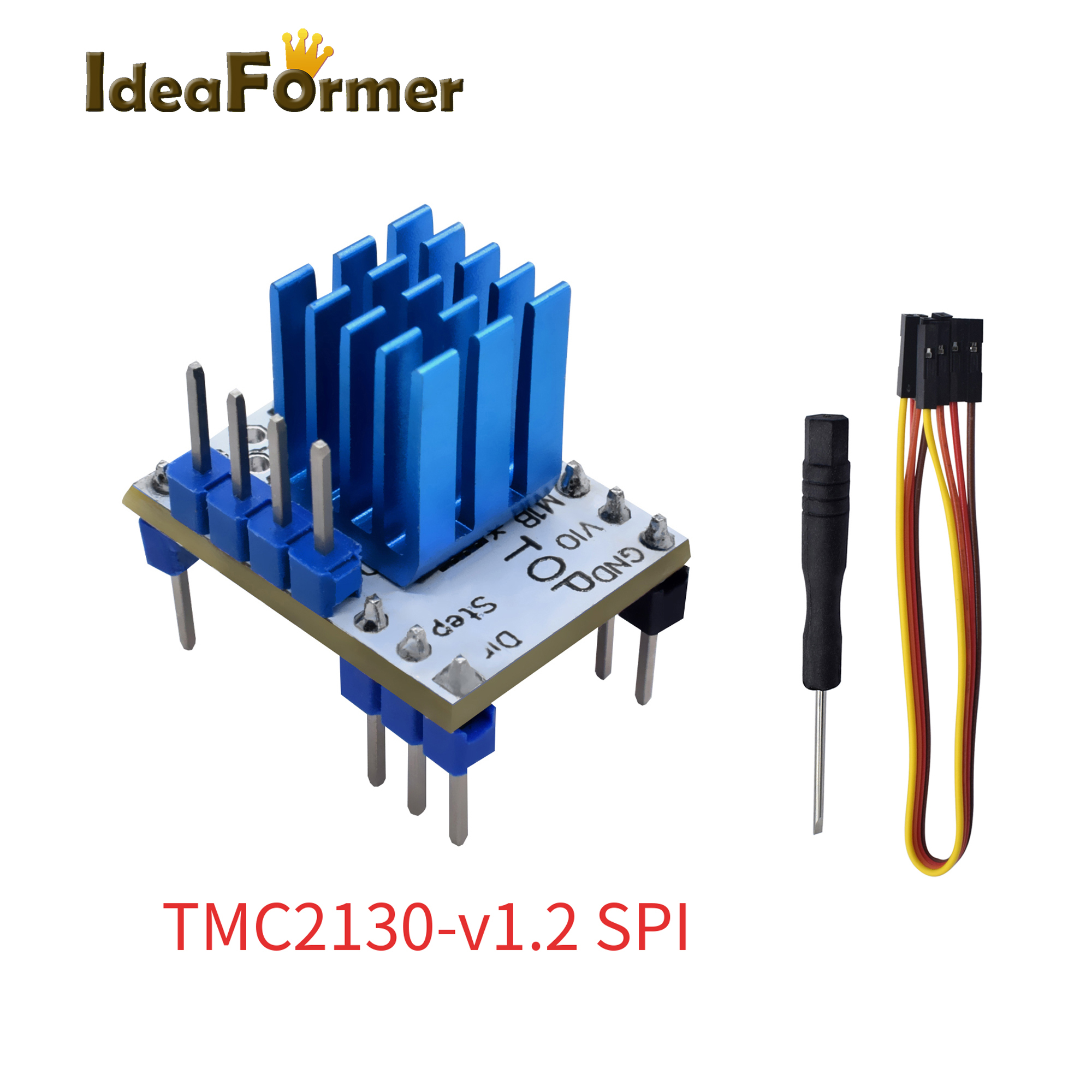 5 Pcs TMC2130 V1 1 TMC2130 V1 2 SPI Stepper Motor StepStick Silent Driver Excellent Protection Stability For 3D Printer Parts in 3D Printer Parts Accessories from Computer Office