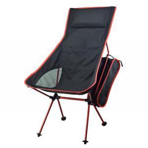 Image 2 - נייד מתקפלים גן כיסא קל משקל דיג קמפינג טיולים גינון מושב שרפרף חוף כיסא חיצוני מנגל עם תיק