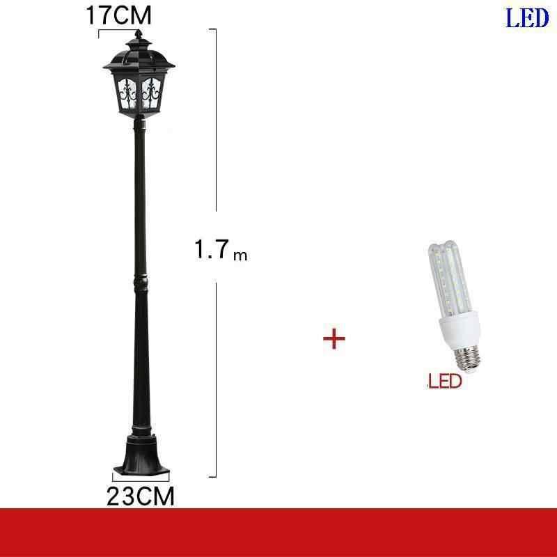 Да эстерно Tuinlamp квадратный Ogrodowe Eclairage уличный фонарь светильник Exterieur светодиодный от лампы Uliczna уличное освещение