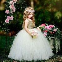 Emmababy menina vestidos de dama de honra moda casual conforto bebê flor crianças festa lantejoulas casamento vestidos de princesa para a menina bonito|Vestidos| |  -