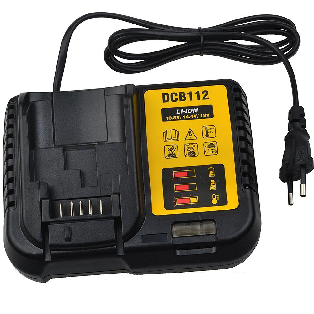 Adeeing Li-Ion Quick Charger Replacement For Dewalt DCB112 DCB105/015