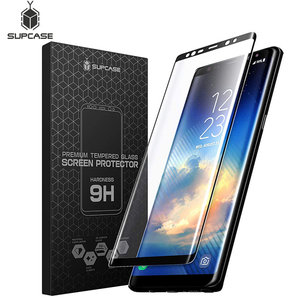 Image 1 - For Samsung Galaxy Note 9 SUPCASE Anti Scratch Premium 3D Curved Edge Anti Impact Tempered Glass Screen Protector,1PC in a Pack