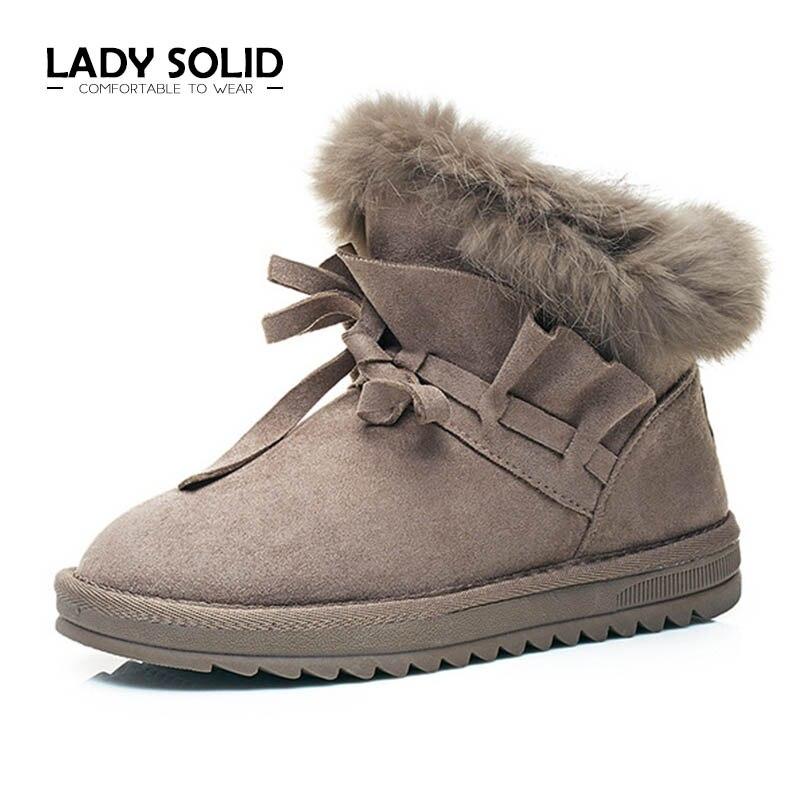 forme Beige Courtes Bottes grey Chaussures Rond 35 Coton Tissu Plat Cheville Bout Plate Nouvelle Caoutchouc Femmes Neige 321 2018 camel Peluche 40 Arrivée En black D'hiver 7aBnfq