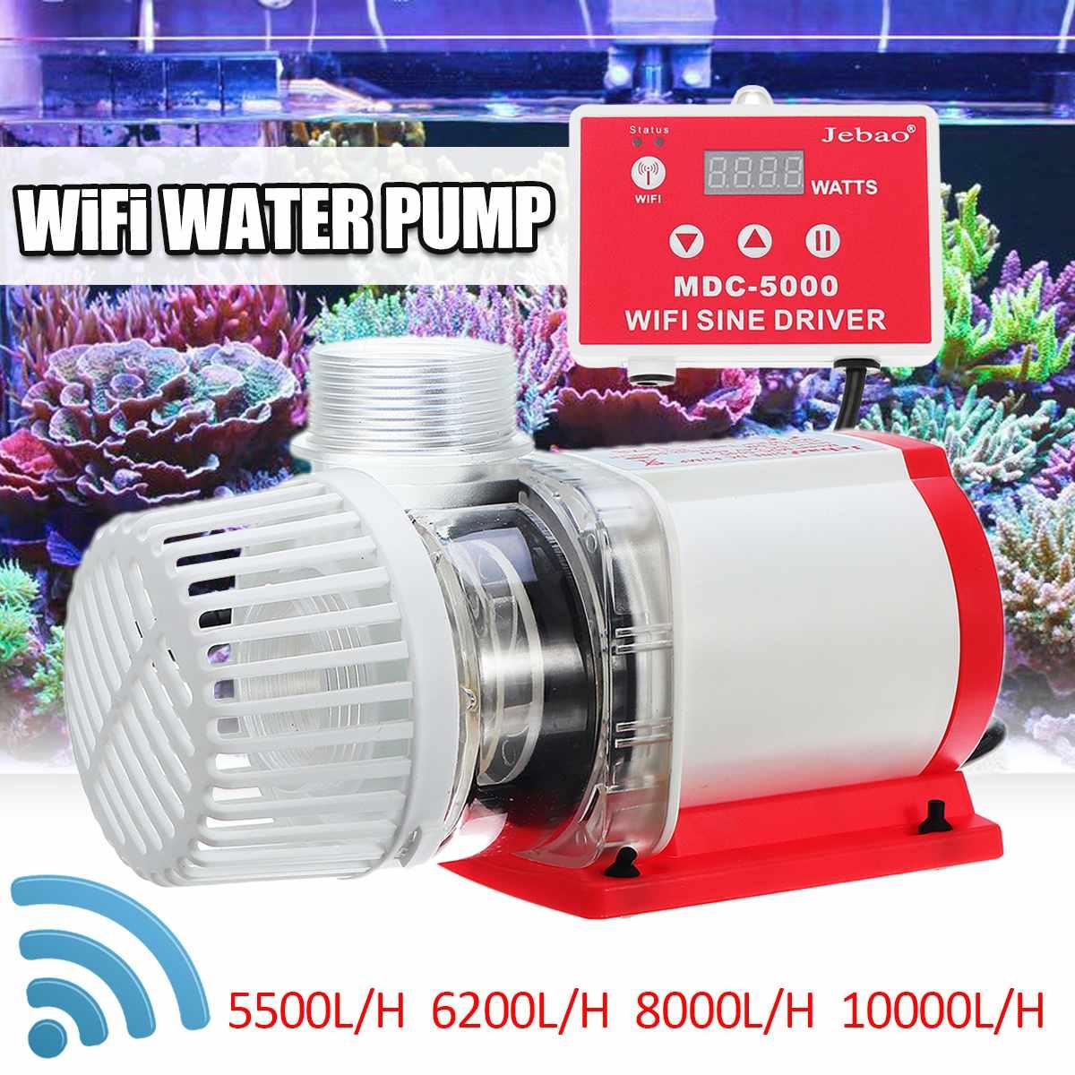 SUNSUN JDP pompe à eau à grand débit WiFi pompe à eau à courant continu contrôlable pour Aquarium Aquarium récif marin Kio pompe de Circulation de l'étang