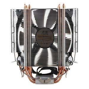 Image 2 - Bonhomme de neige CPU Cooler Master 4 Contact Direct caloducs gel tour système de refroidissement CPU ventilateur de refroidissement avec ventilateurs PWM
