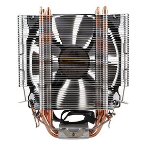 Image 2 - SNOWMAN CPU Cooler Master 4 Direct Contact Heatpipes freeze Tower Cooling System CPU Cooling Fan with PWM Fans