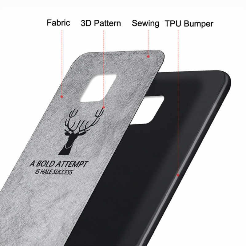 ケース Huawei 社 P20 Lite プロケース生地鹿の布カバーのために名誉 8X 8C 9 10 lite 7A 7C メイト 20 ノヴァ 3 3i ケース 1080p スマートプラス