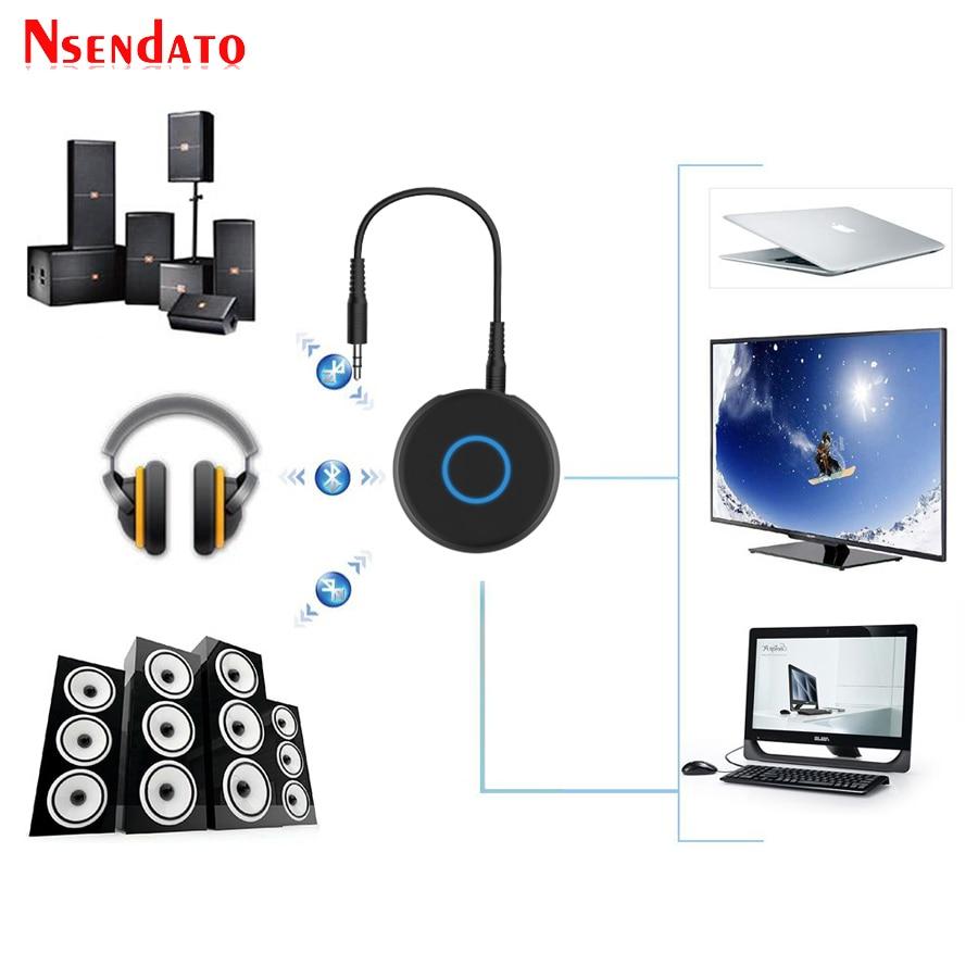3,5mm Jack Drahtlose Bluetooth 5,0 Musik-sender Audio-adapter Für Tv Computer Notebook Starten Audio Zu Kopfhörer Lautsprecher Tragbares Audio & Video Unterhaltungselektronik
