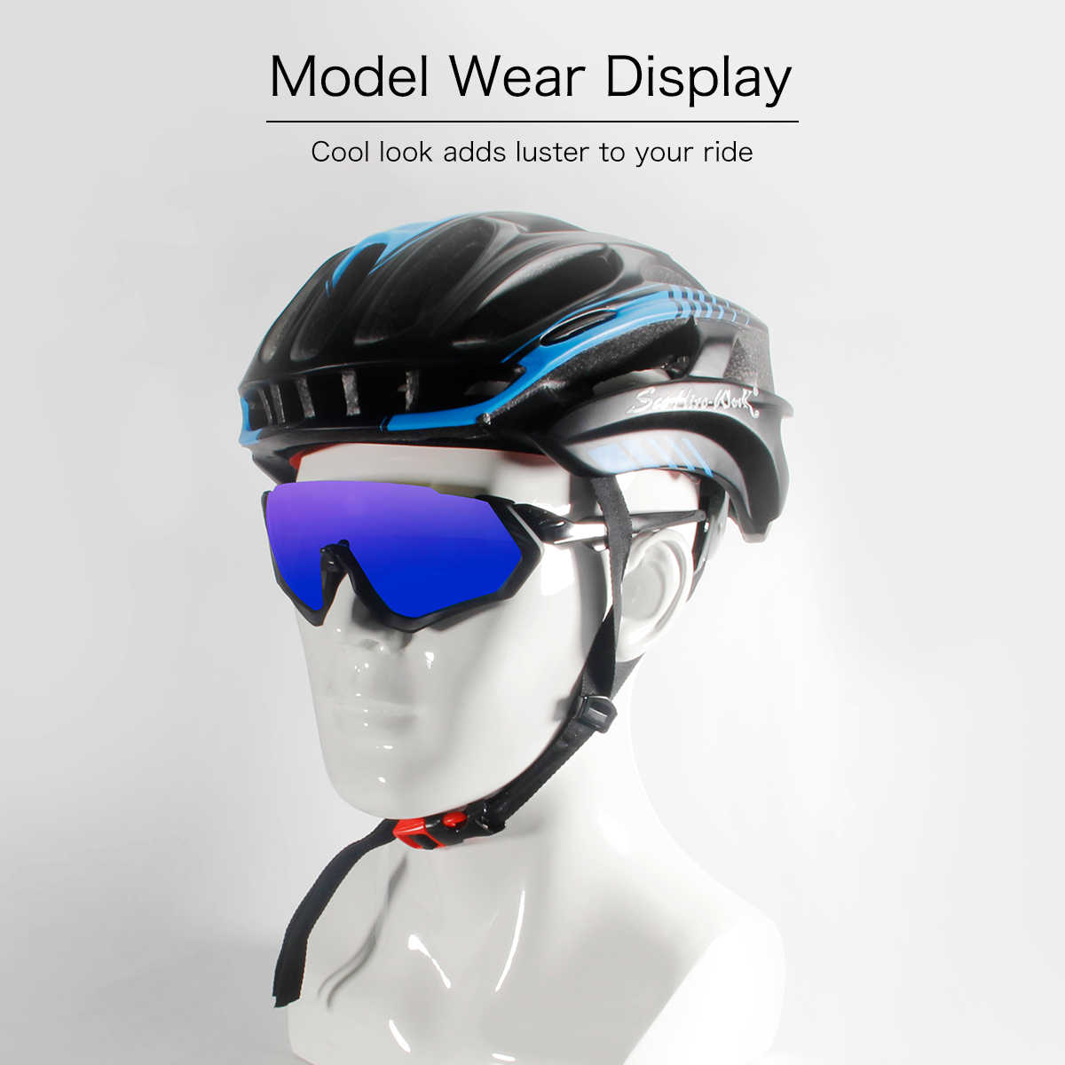 f668ed1879d ... Queshark Sport Sunglasses Mtb Cycling Glasses Bike Glasses Men Women Bicycle  Goggles Cycling Eyewear 3 Lens ...
