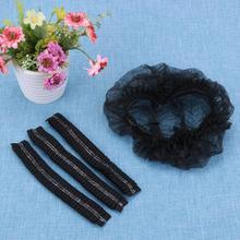 100 шт одноразовые пластиковые шляпы для ванной, для женщин, для дома, водонепроницаемые колпачки для душа, для спа-салона, для волос, водонепроницаемые шляпы для шоу, части для ванной комнаты