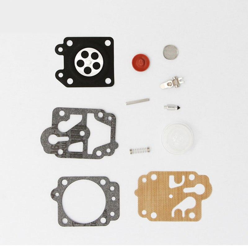 10PCS Carburetor Repair Kit For Chinese Trimmer CG260 CG330 CG430 CG520 GX35 43CC 52CC 100% Brand New Carburetor Repair Kit