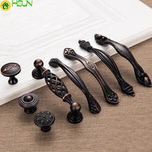 Antique Furniture Cabinets Handle and Knob American Style Knobs Drawer Puller Door Handles Cabinet Pull цена