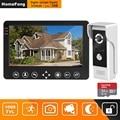HomeFong video intercom 7 zoll HD Verdrahtete video tür telefon Kamera Unterstützung IR Nachtsicht motion sensor Türklingel für Home sicherheit