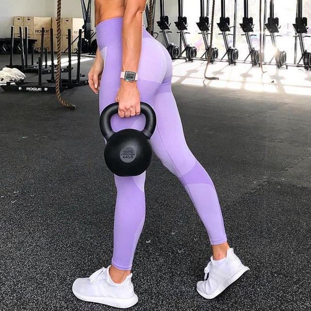 Fashion High Waist Women Fitness Legging Feminina Workout Leggings Jeggings Elastic Sportswear Seamless Leggins Women Clothing
