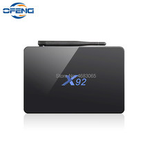 X92 smart tv box android 7.1 3gb 32gb 2gb 16gb smart tv caixa octa núcleo amlogic s912 2.4ghz/5.8g wifi 4k bt4.0 h.265 conjunto caixa superior