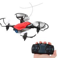 GW10 Mini Foldable Drone 4CH G Sensor RC Drone Altitude Hold Headless Mode Foldable Quadcopter One Key Return